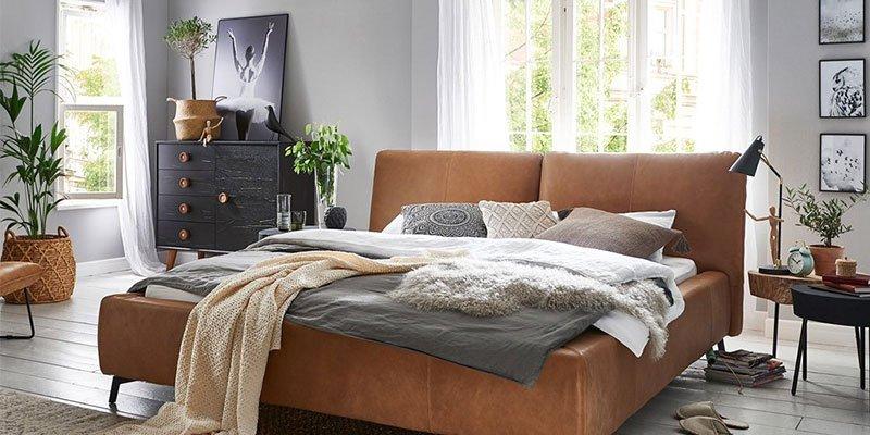 Bett Kigoma von Styles United im Schlafzimmer