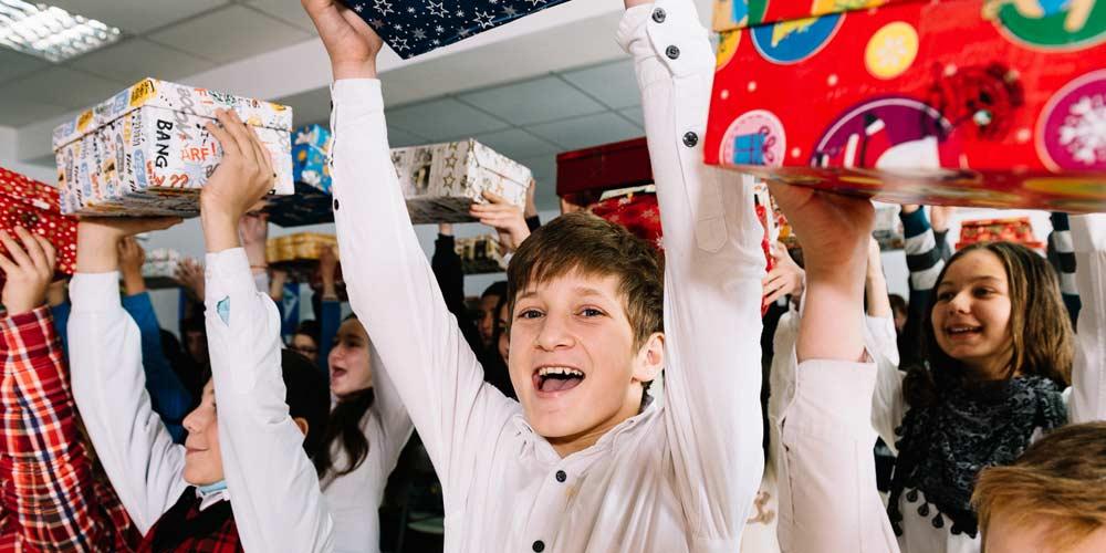 Freude im Klassenzimmer
