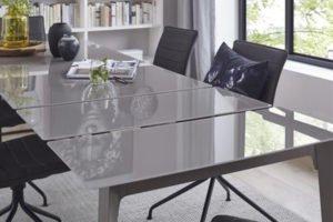 Esstisch Talavera von Global mit Glasplatte