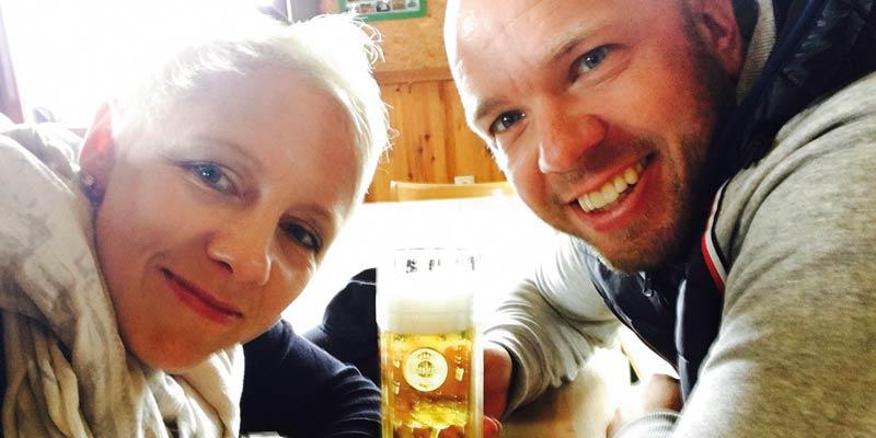 Nils und Sabrina Kuiper - Prost