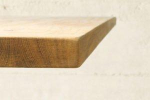 Esszimmertischplatte mit gerader Kante