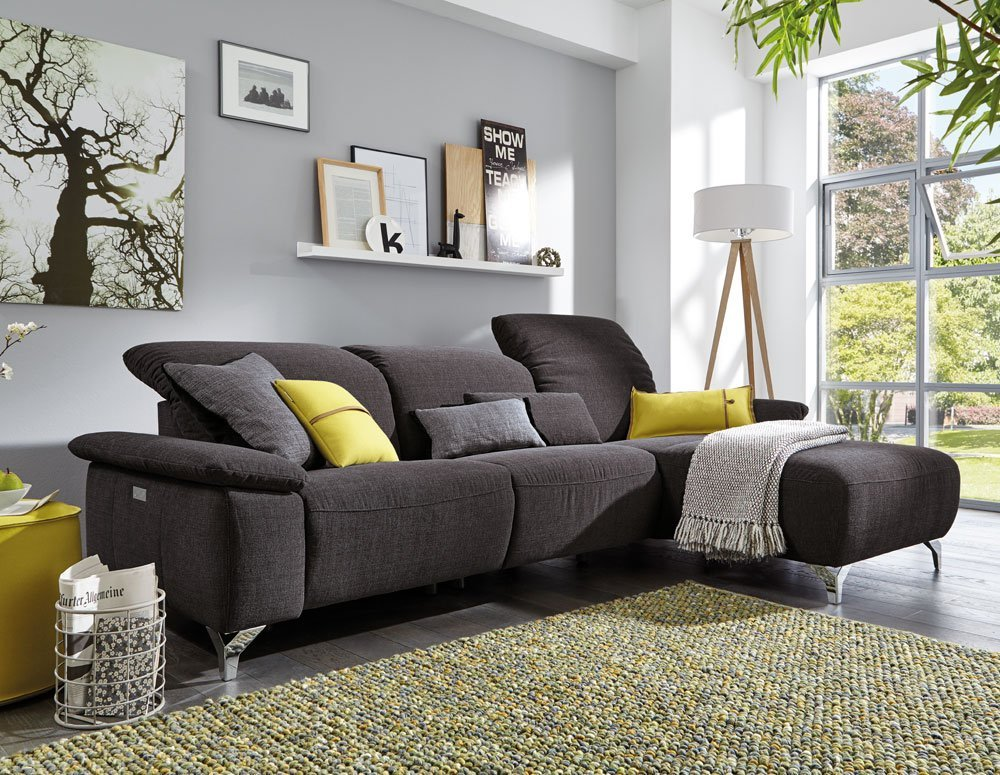 Musterring Mr 370 Sofa In Stoff Anthrazit Home Company Mobel