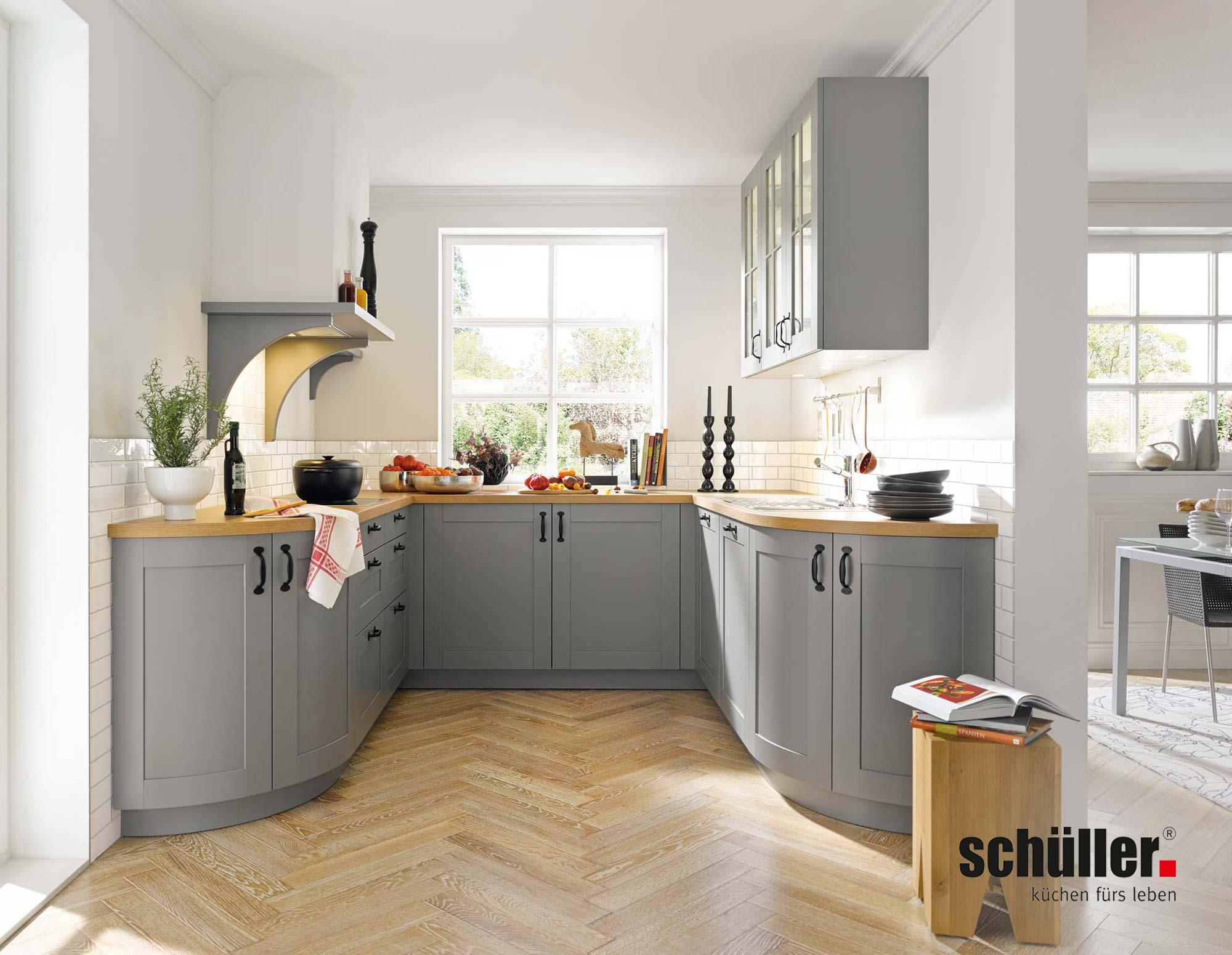 Schüller Casa Landhausküche in Grau