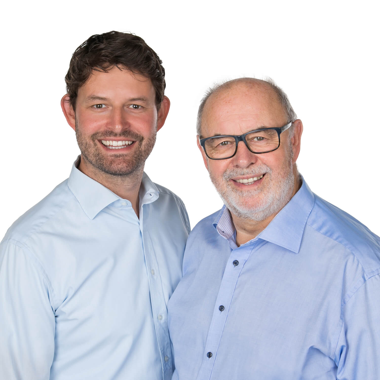 Sebastian und Günter Spitzhüttl, Geschäftsführer bei Spitzhüttl Home Company