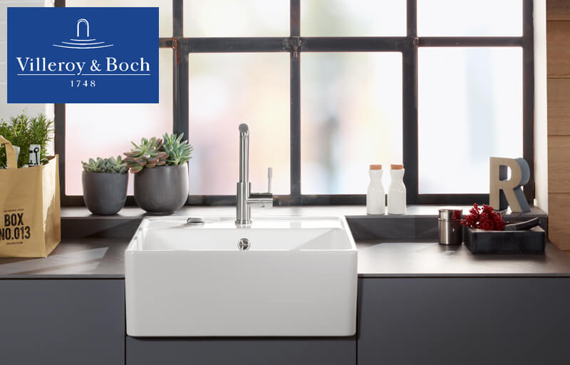 Villeroy& Boch, Keramik, Spülbecken, Marke, Küche, hochwertig