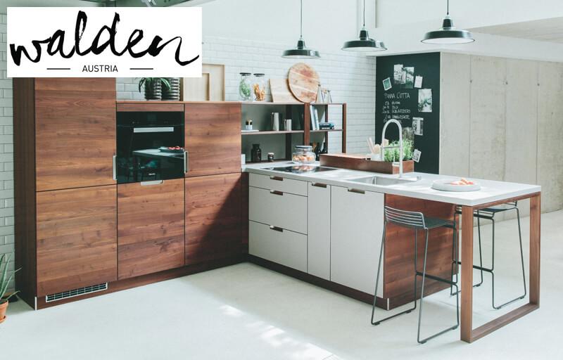Walden Küche Massivholz, Marke, hochwertig