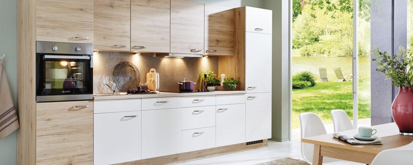 Küchenzeile Küche Aktiv, günstig, Service, Küchenplanung