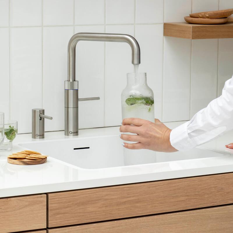 Quooker Fusion, kochendes Wasser, Wasserhahn