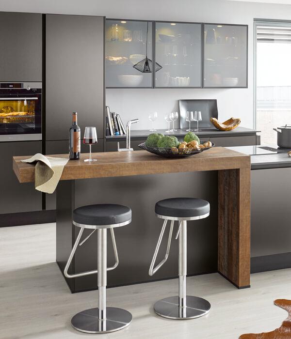 moderne Küche, Inselküche, Küchenberatung