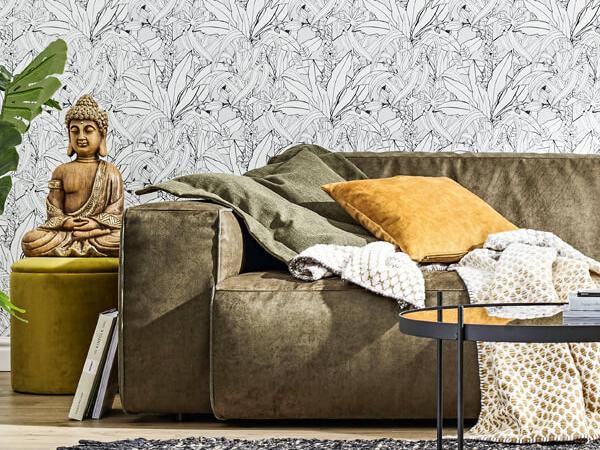 Sofa, Polstermöbel, Couch, Stoffbezug, Global Elementos