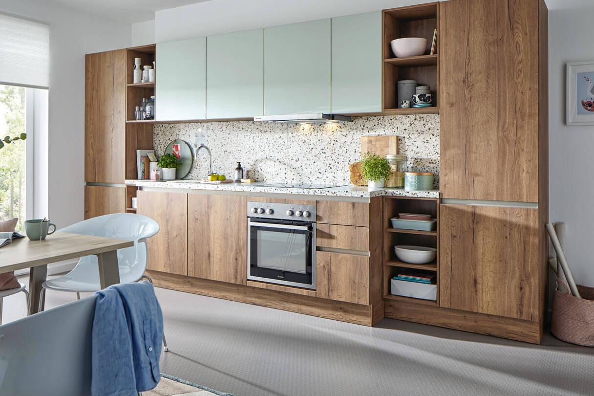 Küchenzeile, Global Küche, Terrazzo