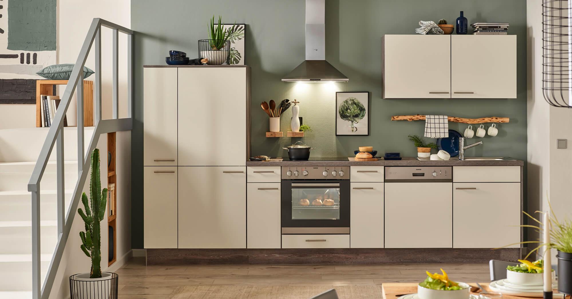 Küchenzeile Pino, günstige Küche, Küchenberatung, Service