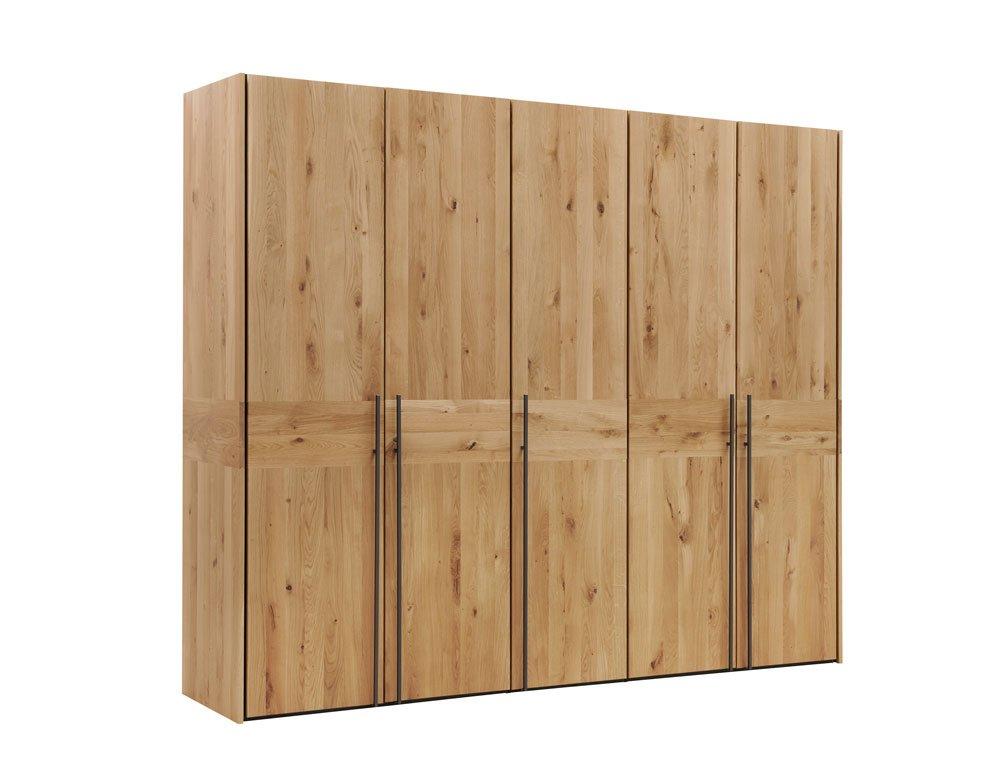 Natura Colorado Drehtürenschrank Schlafzimmersschrank Eiche Massivholz