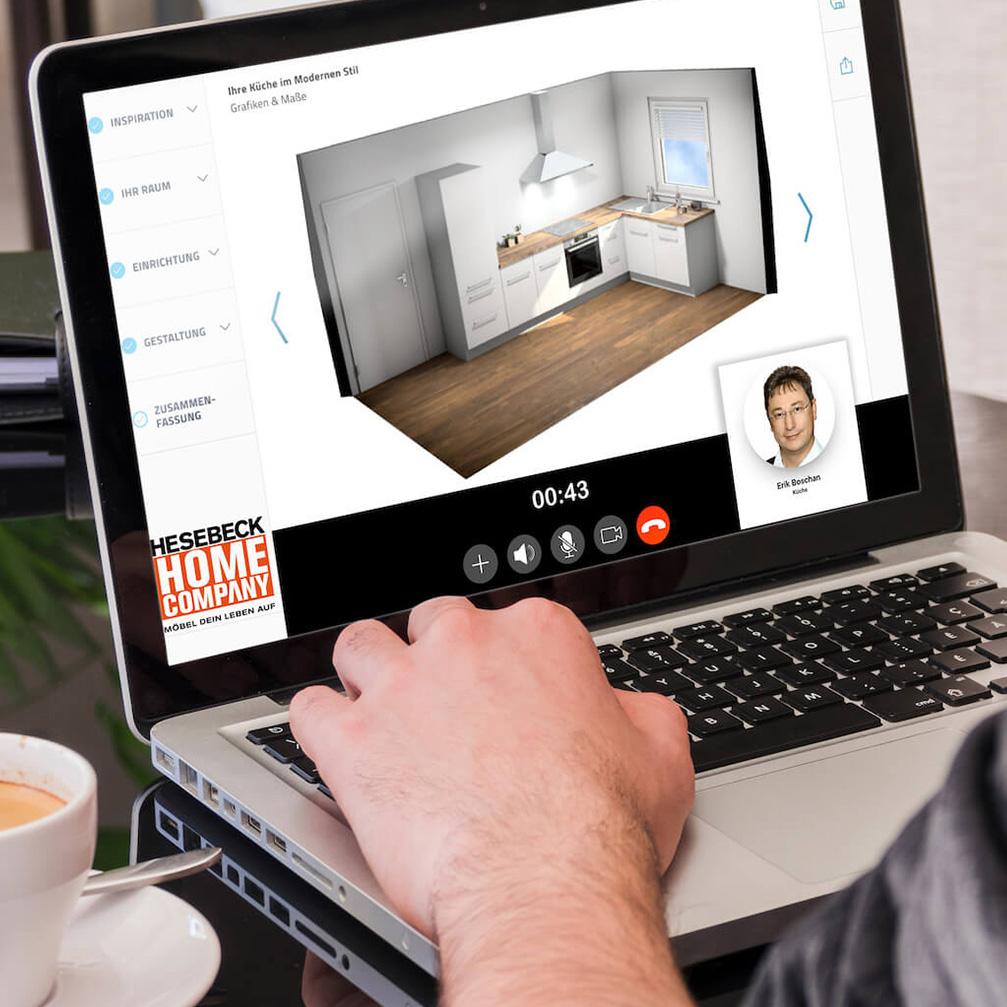 Online Küchen- und Möbelplanung