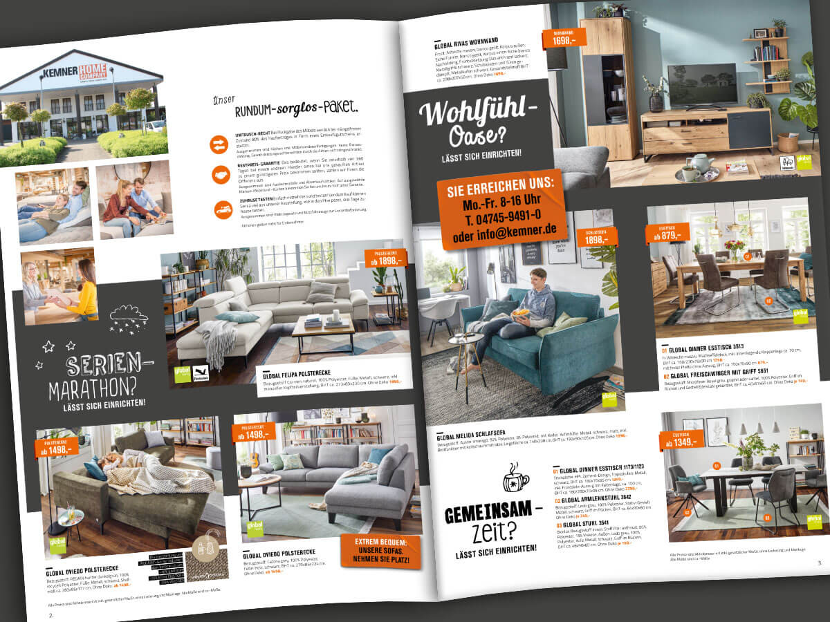 Kemner Home Company Prospekt Angebote Vorschaubild