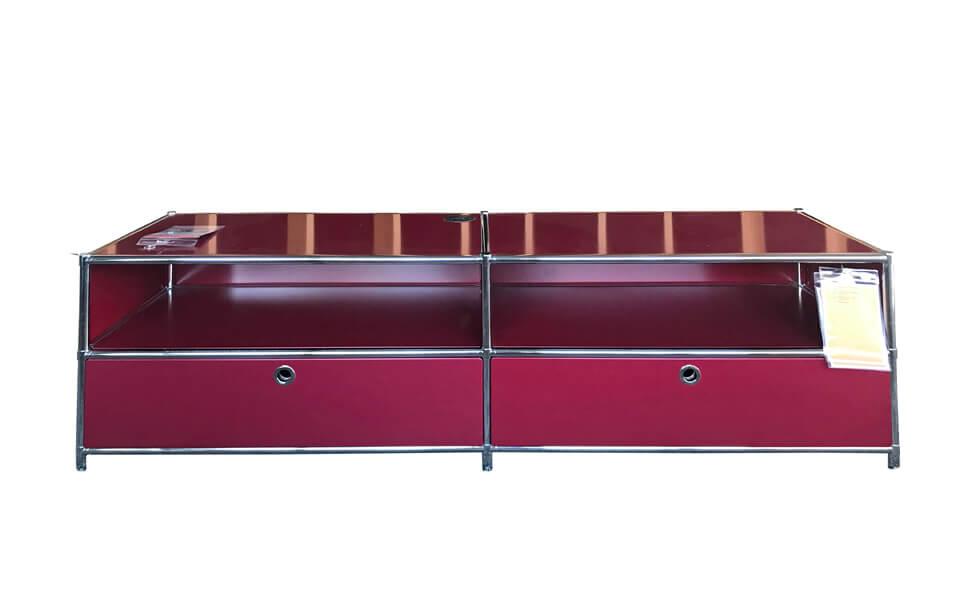 TV-Lowboard Contur Pistoia in rot zum Abverkaufspreis