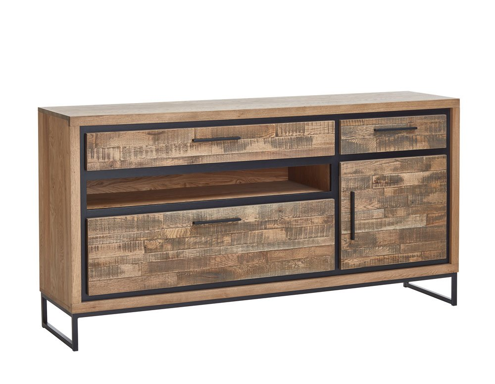 Sideboard Marke Styles United Rawson mit offenem Fach im Industrial Style