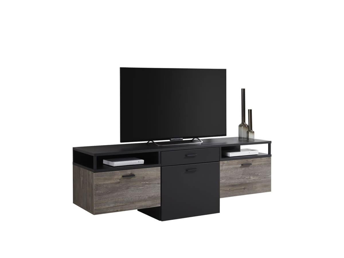 TV-Lowboard Imilia von Viva in grau und Eiche grau