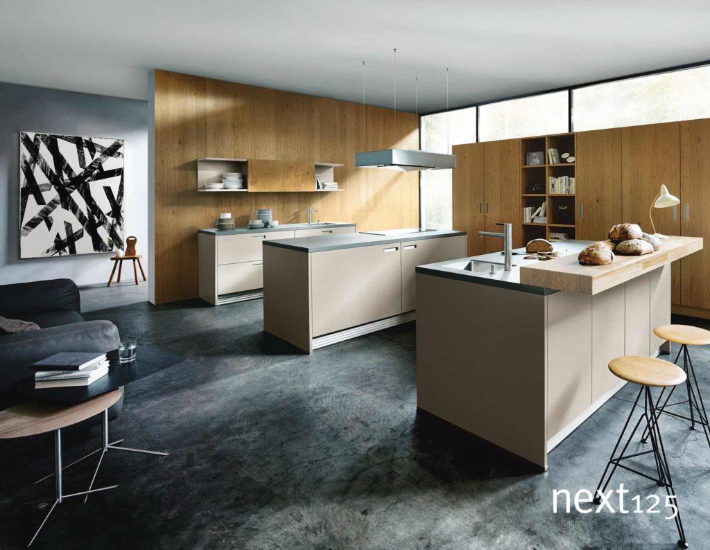 Küche Marke Next125 NX950 Sandgrau matt