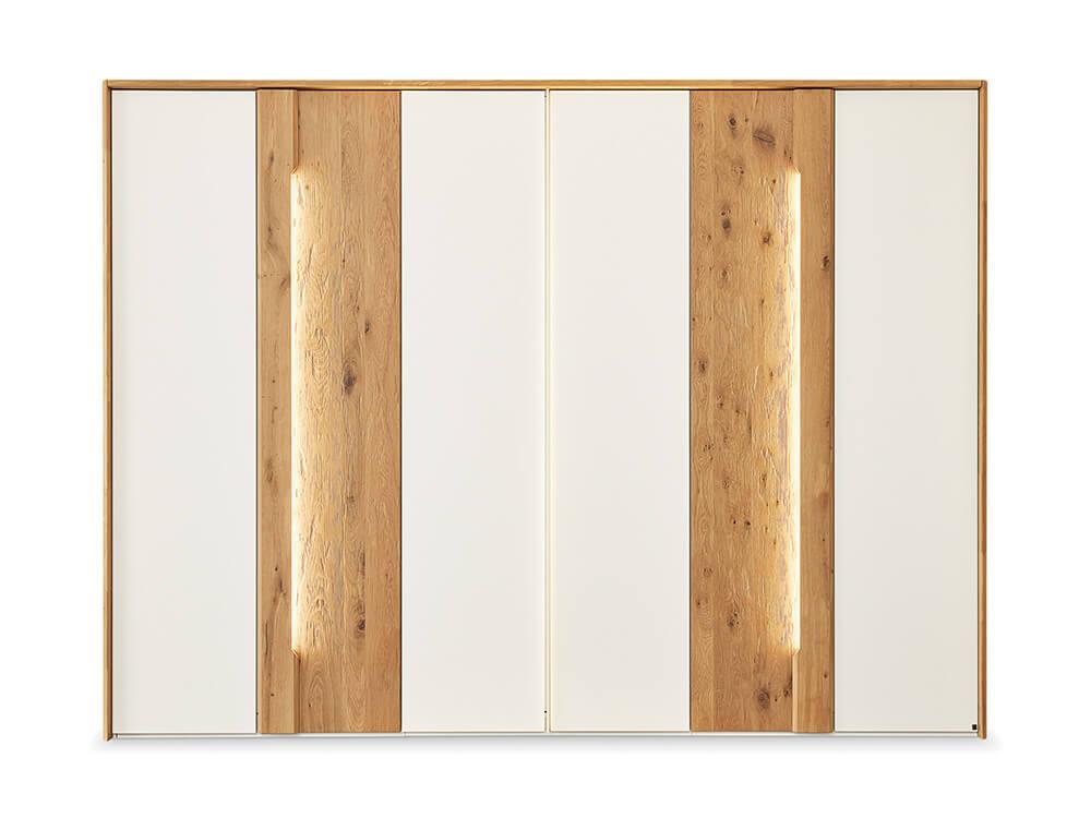 Musterring Jovanna Drehtürenschrank mit Beleuchtung