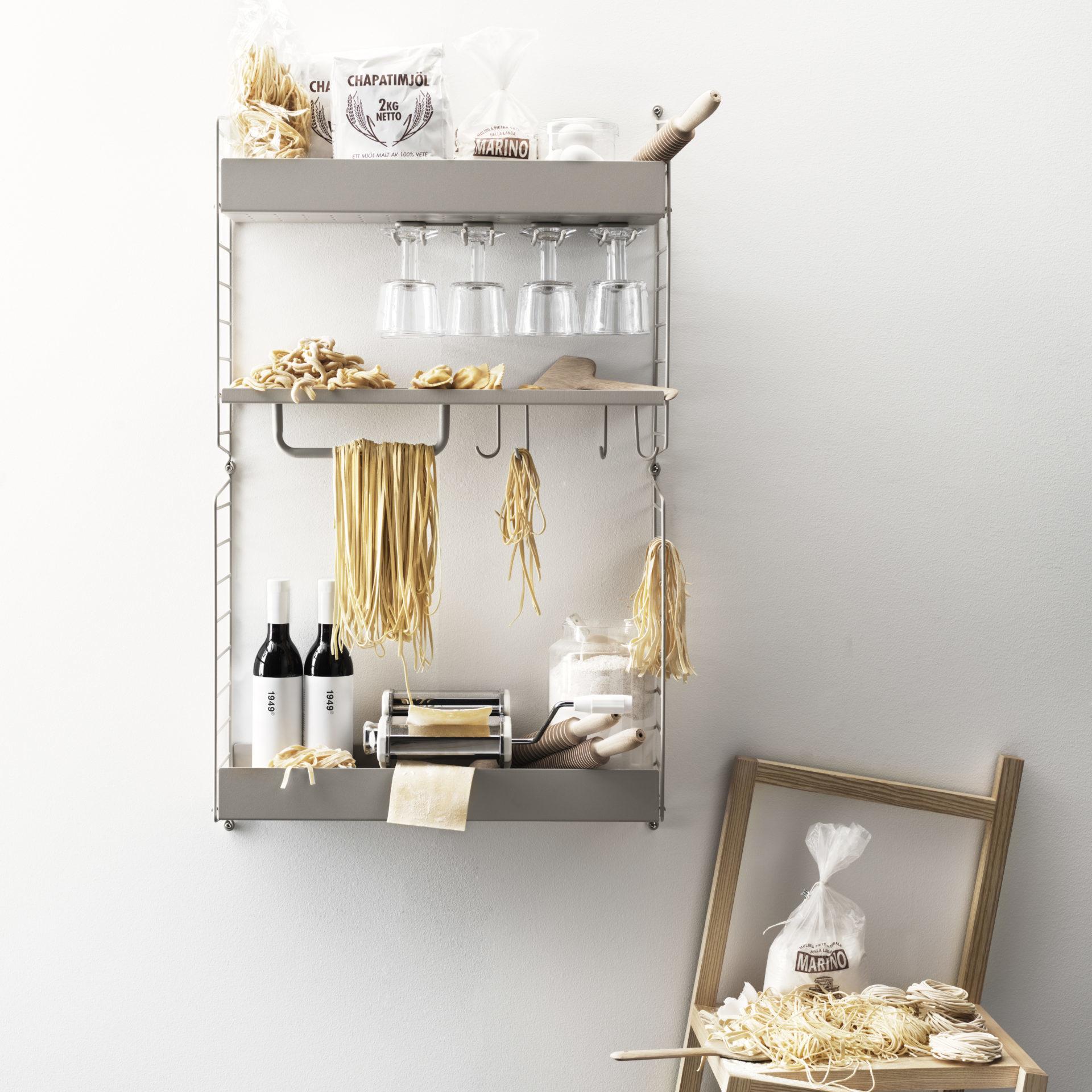 string regal küche