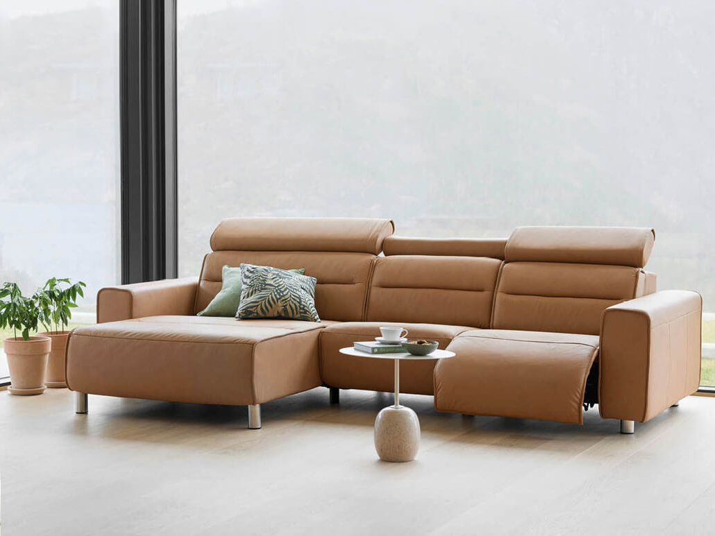 Stressless Sofa-Aktion Leder zum Stoffpreis